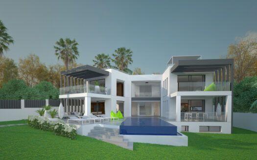 ARFV2168 Exceptional project for beachfront villa in Marbesa in Marbella