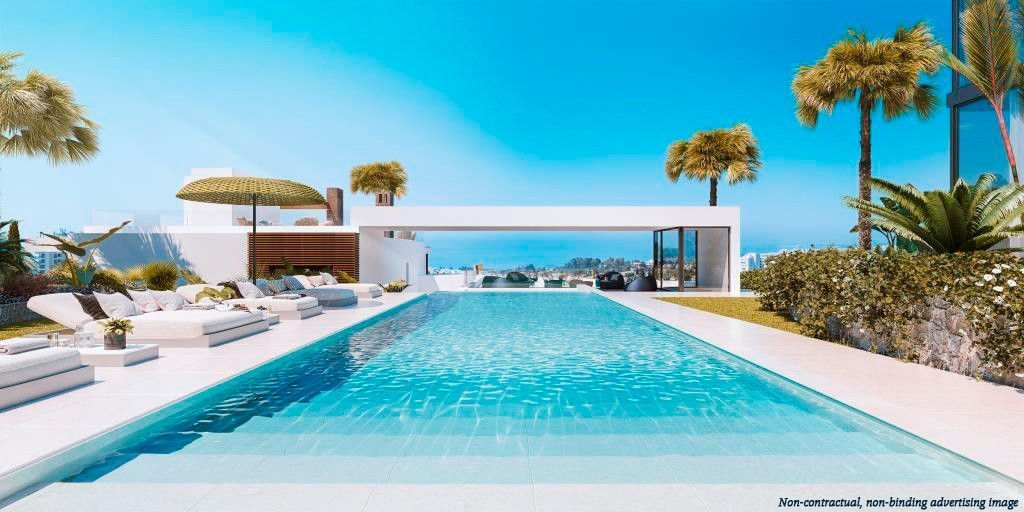 ARFATH172 Exclusive townhouses in Rio Real in Marbella with panoramic views