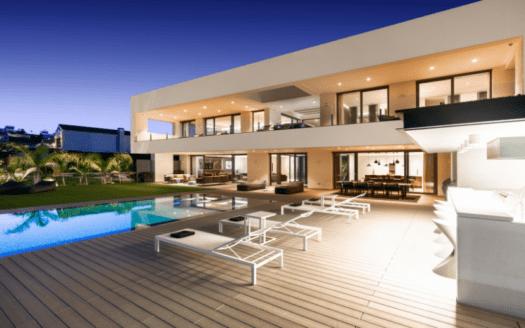 ARFV2197 Brand New Modern Frontline Golf Villa with Sea Views in La Alqueria
