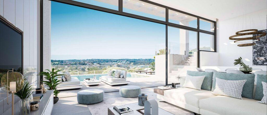 ARFV2201-2 Unique new villa with panoramic views under construction