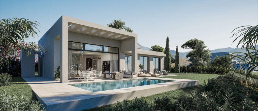 ARFV2201-1 Unique new villa with panoramic views under construction